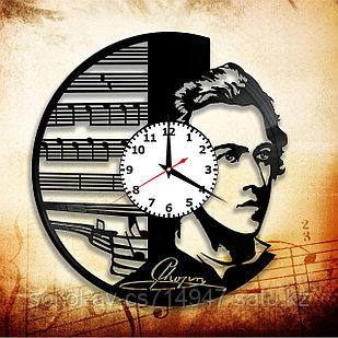 Настенные часы Фридерик Шопен композитор, подарок фанатам, любителям, 2927