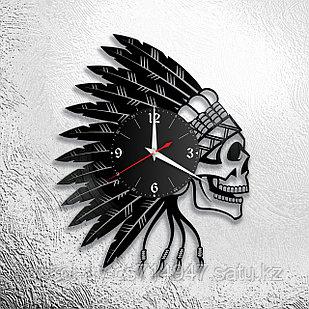 Настенные часы Череп, подарок фанатам, любителям, 2928