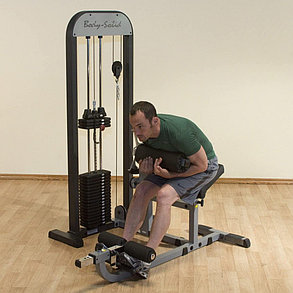 Силовой блочный тренажер для мышц спины и пресса Amazing АМА 315, фото 2