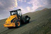 Уплотнение укатка трамбование грунта песка щебня