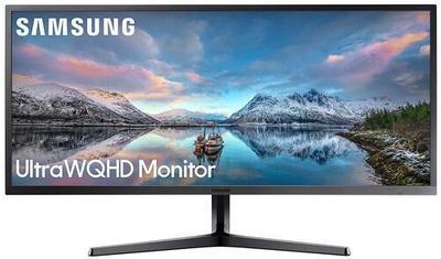"""34.1"""" Монитор Samsung LS34J550WQIXCI - Черный"""