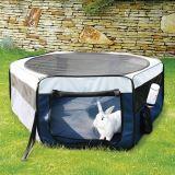 Trixie Загон для мелких животных, ф 90 см/40 см, нейлон