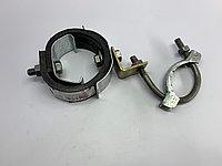 Хому глушителя  с подвесным кронштейном для карбюраторных автомобилей УАЗ, фото 1