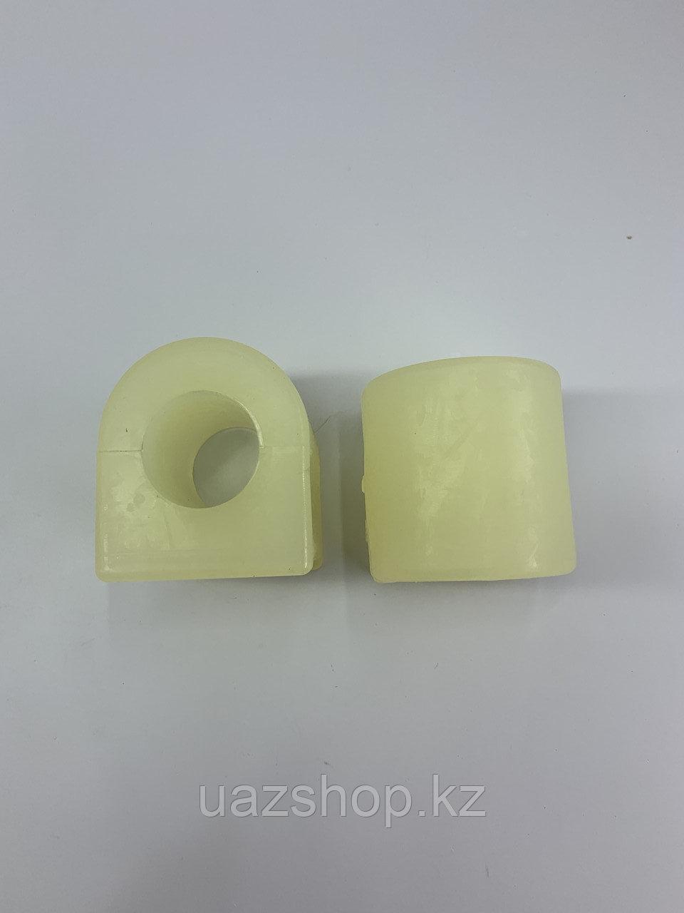 Втулка переднего стабилизатора центральная 24 мм (полиуретан) Для УАЗ Хантер