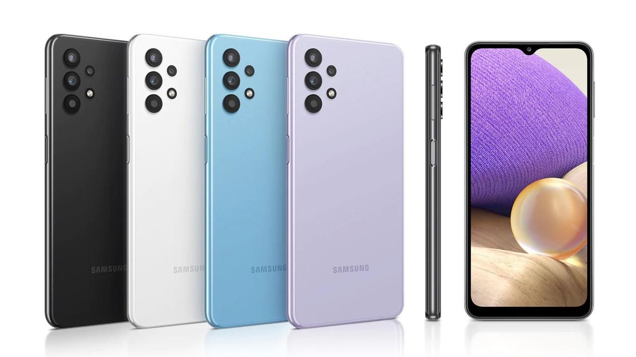 Samsung Galaxy A64 128GB Черный