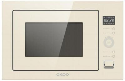 Встраиваемая микроволновая печь AKPO MEA 92508 SEP01IV бежевый