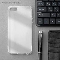 УЦЕНКА Чехол Innovation, для iPhone 5/5S/SE (2016), силиконовый, прозрачный