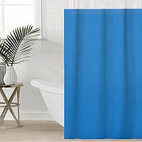 Штора для ванной комнаты SAVANNA «Лайн», 180×180 см, EVA, цвет голубой
