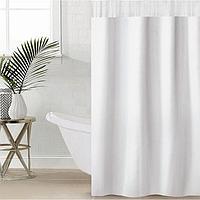 Штора для ванной комнаты SAVANNA «Лайн», 180×180 см, EVA, цвет белый
