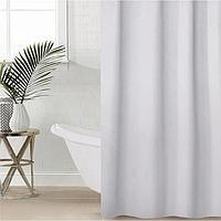 Штора для ванной комнаты SAVANNA «Классика», с люверсами, 180×180 см, полиэстер, цвет белый