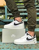 Мужские кроссовки Nike Air Force 1. Кожа