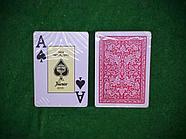 Игральные карты для покера (100% пластик), фото 4
