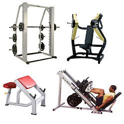Силовые тренажеры для спортивного зала