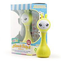 Alilo: Музыкальная игрушка Умный зайка желтый