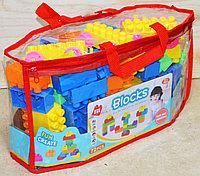 НЕмного порвана упаковка!!! 990-119 Конструктор Blocks в сумочке 72 дет 35*18, фото 1