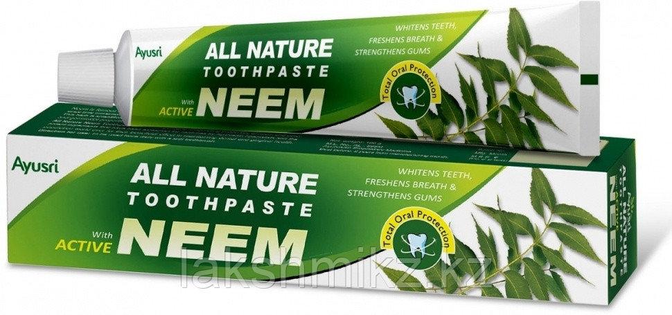 Аюрведическая зубная паста с Нимом (Neem toothpaste AYUSRI), 100 грамм