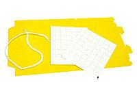 Дельтовидная ловушка пластиковая желтая и 2 клейких вкладыша