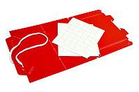 Дельтовидная ловушка пластиковая красная и 2 клейких вкладыша