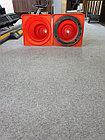 Конус сигнальный  резиновый 750 с утяжелителем КС дорожный +77079960093, фото 4