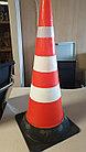 КС Конус сигнальный резиновый мягкий, гибкий, оранжевый 750 мм, фото 5