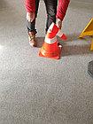 КС Конус сигнальный резиновый мягкий, гибкий, оранжевый 750 мм, фото 8