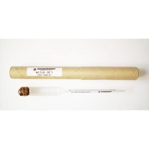 Ареометр-спиртометр: 0-25%