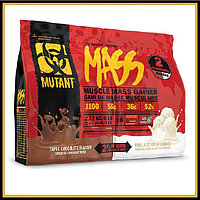 MUTANT MASS 2.72кг (тройной шоколад/ваниль) 2 в 1