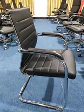Кожанный офисный крело, фото 3
