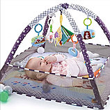 Развивающий коврик с шариками и бортиками, фото 4