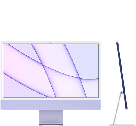 "Apple iMac M1 24"" 4.5K 256GB 8GPU Purple (Z130) 2021"