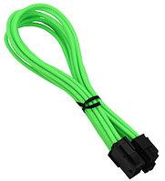 Удлинитель Nanoxia 8-pin EPS, 30см, Неоновый-зеленый neon-green