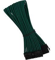 Удлинитель Nanoxia 24-pin ATX, 30см, темно-зеленый dark-green