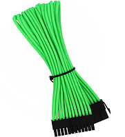 Удлинитель Nanoxia 24-pin ATX, 30см, неоновый-зеленый neon-green
