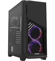 Корпус ATX midi tower Antec, DP502 FLUX, (без БП), черный Case 3*120mm ARGB, 2*120mm black fans + ARGB fan hub