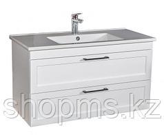 Мебель AQUARODOS ScandiSPA INARI 100 WHITE-MATT- шкаф под умывальник с умывальником ARTE 067600-u
