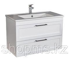 Мебель AQUARODOS ScandiSPA INARI 85 WHITE-MATT- шкаф под умывальник с умывальником ARTE 067500-u