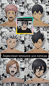 Акриловые вешалки с аниме персонажами