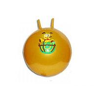 Мяч гимнастический, для фитнеса (фитбол) Zez Sport 3-D50 Orange