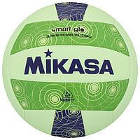 Мяч волейбольный пляжный MIKASA VSG, синтетическая кожа (ТПУ), машинная сшивка, бутиловая камера, размер 5,