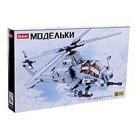 Конструктор Модельки 'Вертолет', 482 детали