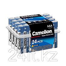 Батарейка CAMELION Super Heavy Duty R03P-PB24B 24 шт. в упак.