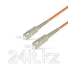 Патч Корд Оптоволоконный SC/UPC-SC/UPC MM OM1 62.5/125 Simplex 3.0мм 1 м