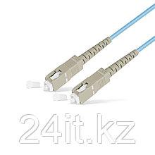 Патч Корд Оптоволоконный SC/UPC-SC/UPC MM OM3 50/125 Simplex 3.0мм 1 м