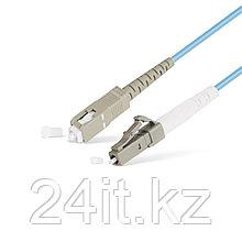 Патч Корд Оптоволоконный SC/UPC-LC/UPC MM OM3 50/125 Simplex 3.0мм 1 м