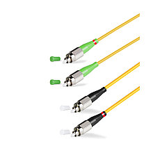 Патч Корд Оптоволоконный FC/UPC-FC/APC SM 9/125 Duplex 2.0мм 1 м
