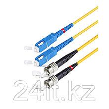 Патч Корд Оптоволоконный SC/UPC-ST/UPC SM 9/125 Duplex 2.0мм 1 м