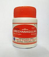 Веричана гулика - слабительное Virechana Gulika ARYA VAIDYA SALA, 100 таб