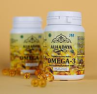 Рыбий жир Омега-3 в капсулах Альхадая