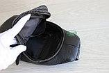 Мужская барсетка, кобура, сумка слинг из натуральной кожи НТ, фото 8