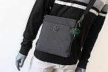 Мужская тканевая сумка через плечо ВВ, фото 7